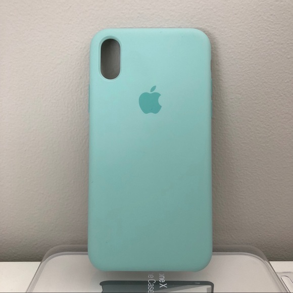 premium selection f8ac2 a3d5c Apple iPhone X/XS Silicone Case - Marine Green